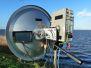 20140111 Chris en Peter stonden op de Shell toren, ik in Eemdijk portable