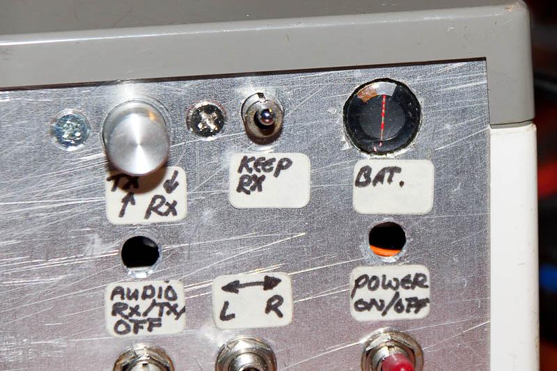 Ingangsspanning meter (batterijmeter)