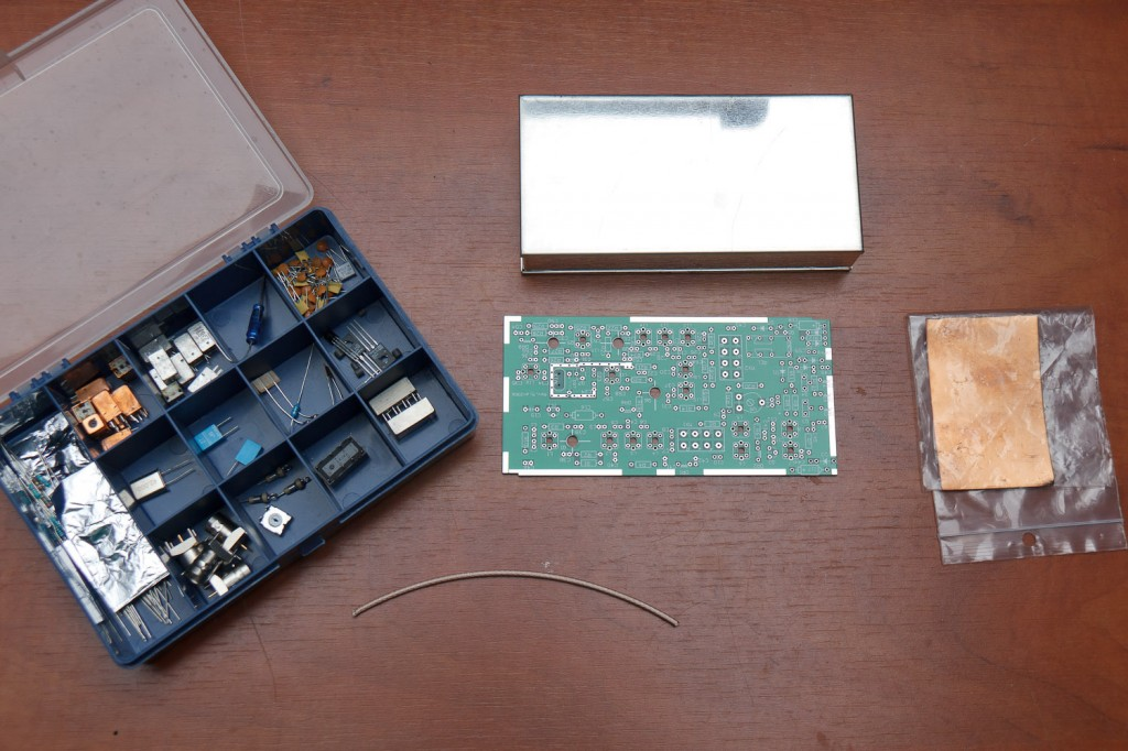 De 70MHz transverter kit (exclusief blauwe box)
