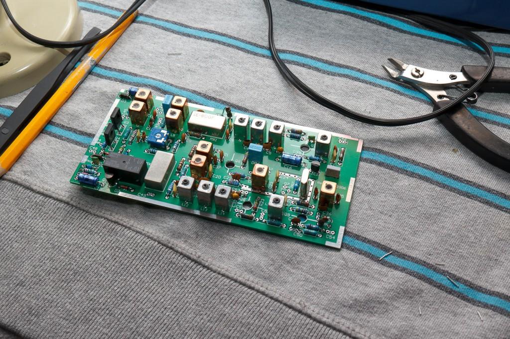 OZ2M 70MHz transverter bijna klaar