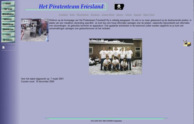 PTF website 2000