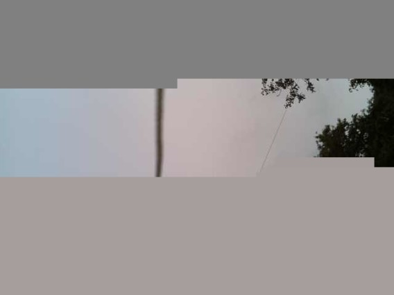 Incomplete SSDV afbeelding (PI_SKY juli 2014)