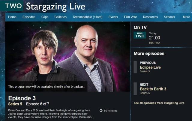 BBC2-stargazinglive