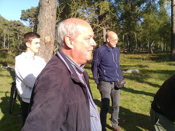 De voorzitter van Veron afdeling 03 was er ook! Frans had al een tijdje niet meer een vossenjacht gelopen, dus was blij met zijn prima uitslag