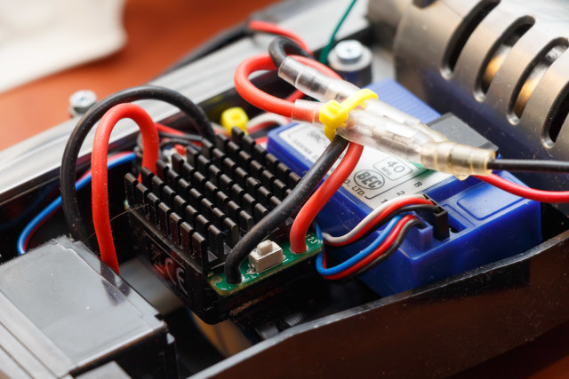 Hobbyking ESC brushed motor