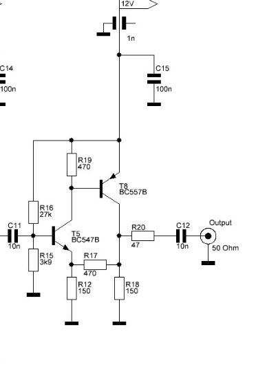 Audiocarrier ampje (zonder de lowpass filter)