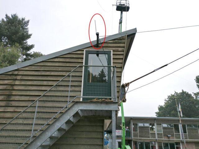 Wifi antenne als 13cm rondstraler