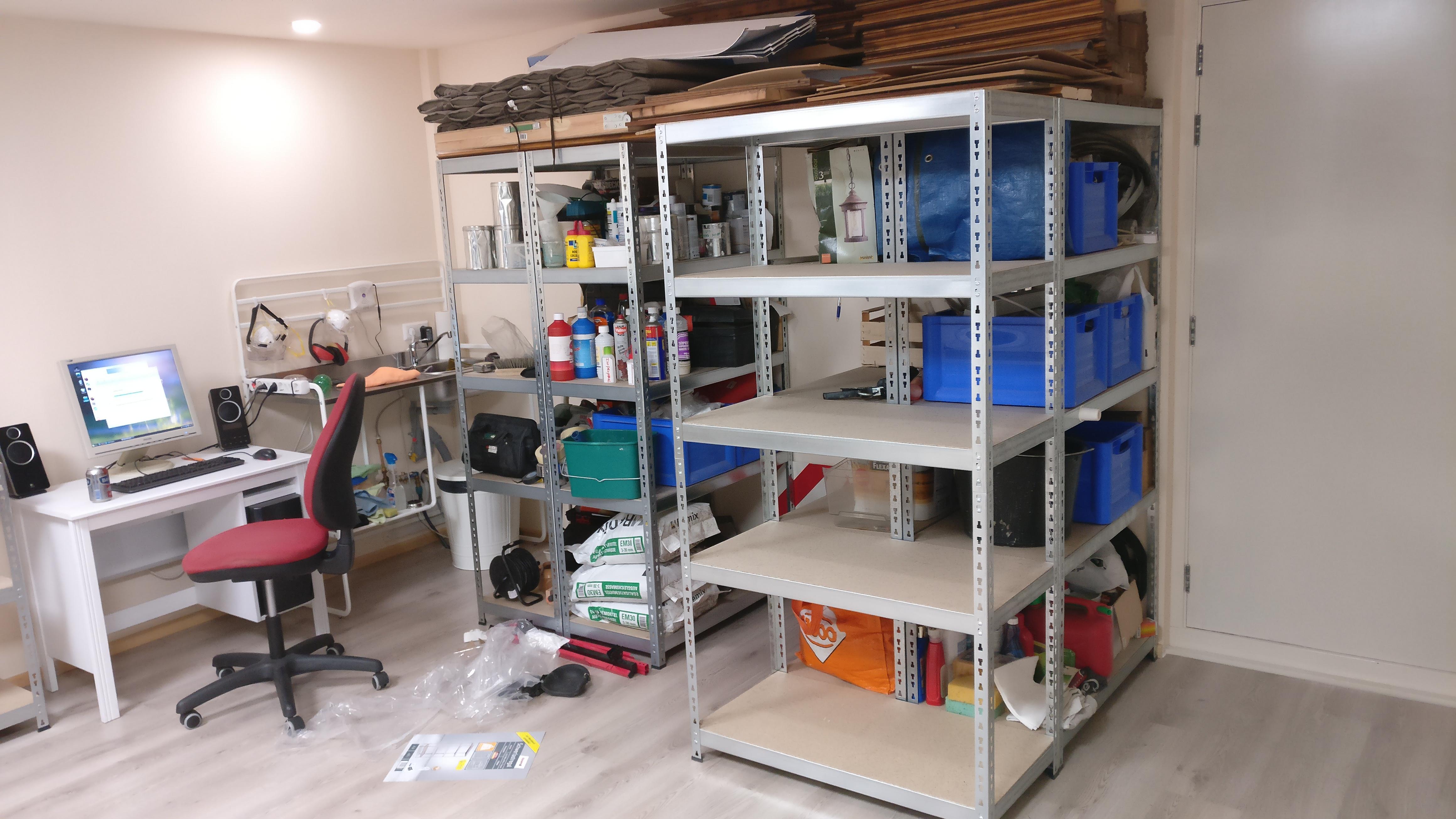 Kleine Computertafel Ikea.Project Uitbreiding Schuur Werkplaats 2016 2017 Samen Met